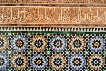 Medina_of_Marrakesh_Medersa_Ben_Youssef_mosaique